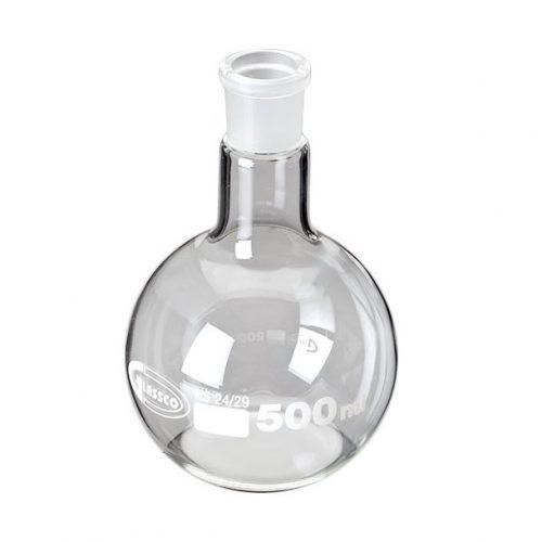 Baloane de sticla cu fund plat si slif