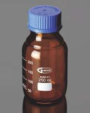 sticla reactivi bruna cu capac infiletabil