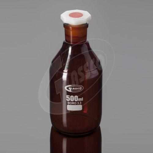 Sticle reactivi culoare bruna cu gat ingust