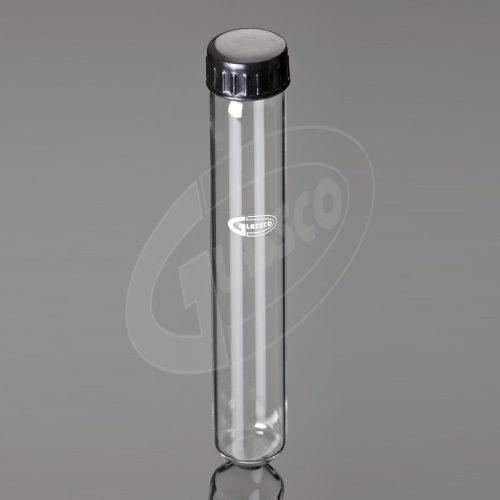 tub din sticla transparenta cu fund rotund